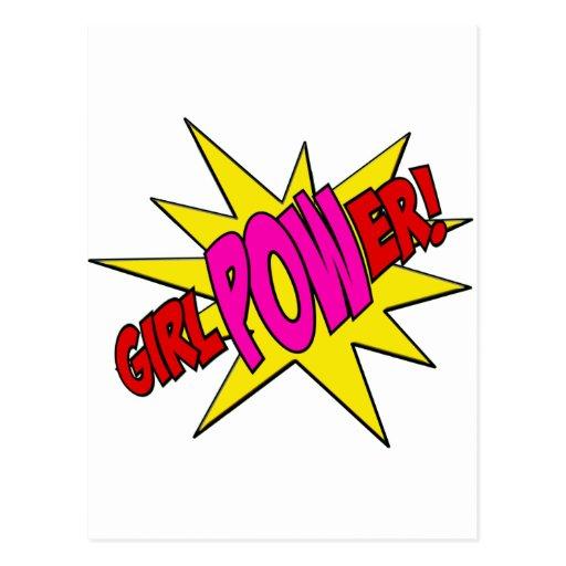 GirlPOWer Post Card
