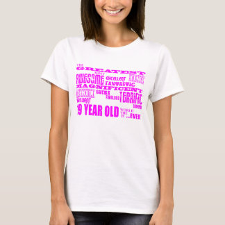 Girls 19th Birthdays : Pink Greatest 19 Year Old T-Shirt