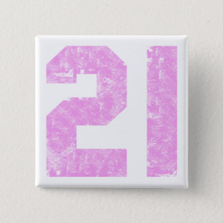 Girls 21st Birthday Gifts 15 Cm Square Badge