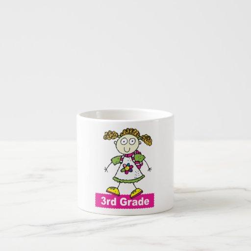 Girls 3rd Grade Espresso Mug