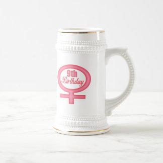 Girls 9th Birthday Gifts Coffee Mugs