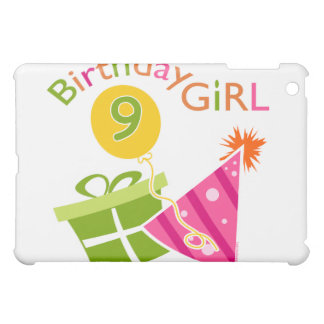 Girls 9th Birthday iPad Mini Cases