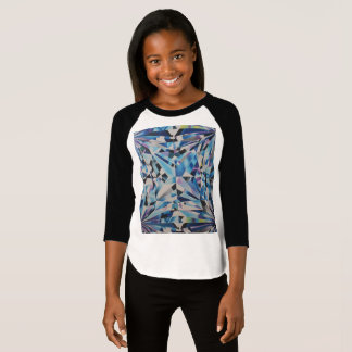 Girls' American Apparel 3/4 Sleeve Raglan T-Shirt