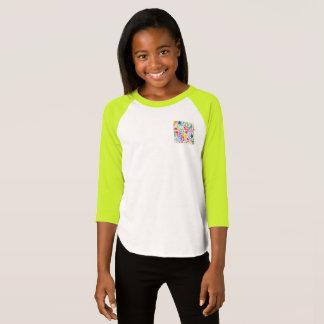 Girls American Apparel Colorful pocket T-Shirt