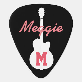 girls and rock music personalised plectrum