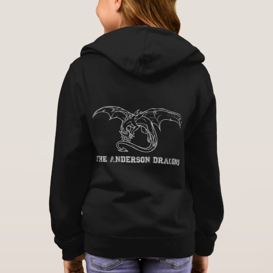 Girl's Anderson Dragon Hoodie