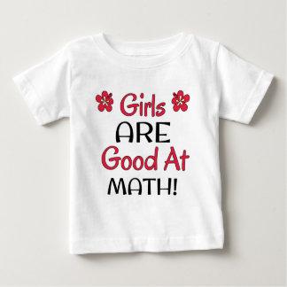 Girls ARE good at Math! Baby T-Shirt