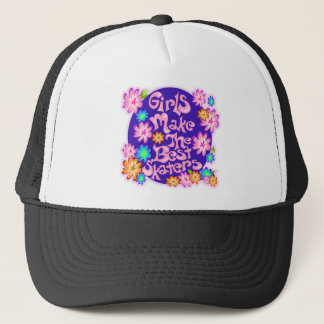 Girls are the Best Skaters! Trucker Hat