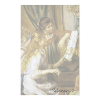 Girls at the Piano - Stationery