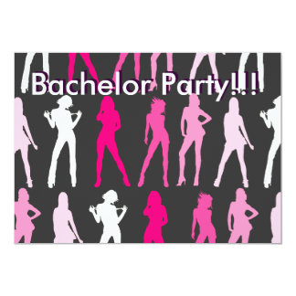 GIRLS, Bachelor Party!!!, Bachelor Party!!! Card