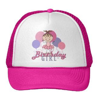 Girls Ballerina Birthday Hats