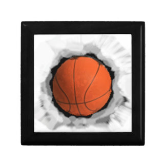 Girls Basketball Small Square Gift Box