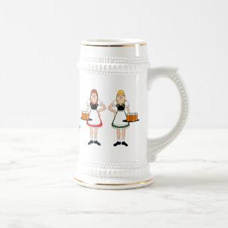 Girls, Beer, Oktoberfest! Coffee Mugs
