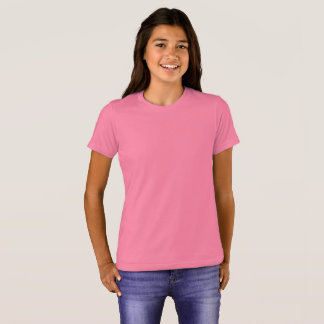 Girls' Bella+Canvas Crew T-Shirt