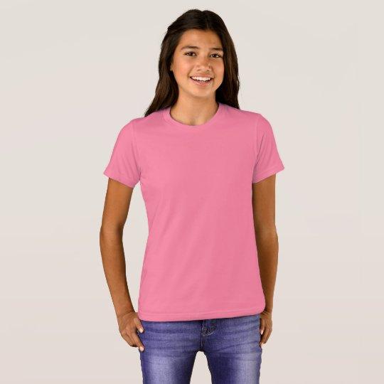Bella+Canvas Crew T-Shirt, Neon Pink