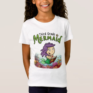 Girls Bella+Canvas fitted t-shirt