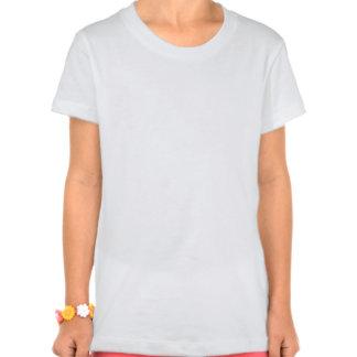 Girls' Bella Jersey Kitten T-Shirt, White T Shirt