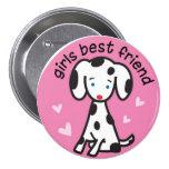girls best friend buttons