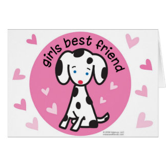 girls best friend card