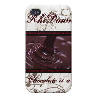 Girl's Best Friend Chocolate IPhone 4/4S  Case Cases For iPhone 4