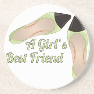 Girls Best Friend Drink Coasters