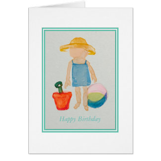 Girls Birthday Card