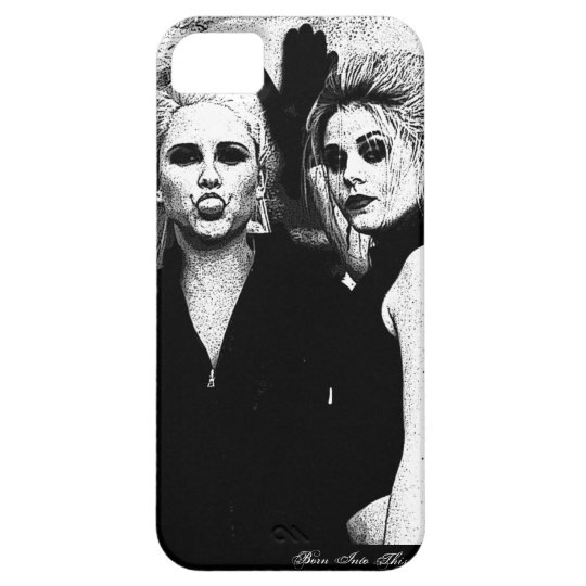 Girls - Black & White Iphone 5 Case