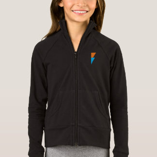 Girls Bolt Full Zip Jacket