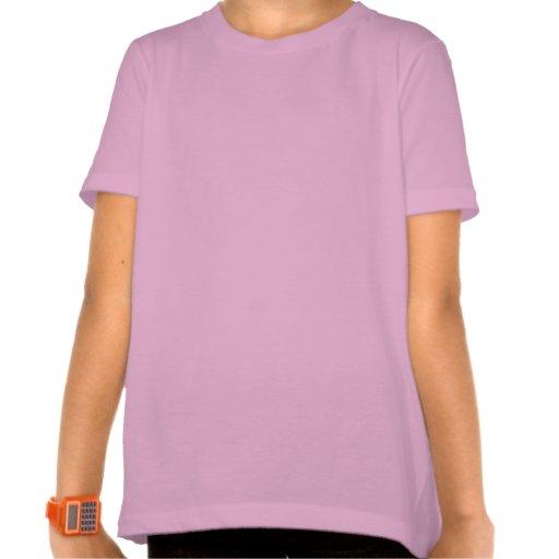 Girl's Bunny Shirt Pocket Easter Bunny Tee Shirt T-shirts