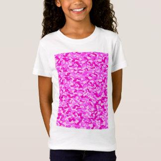 Girls Camo T T-Shirt