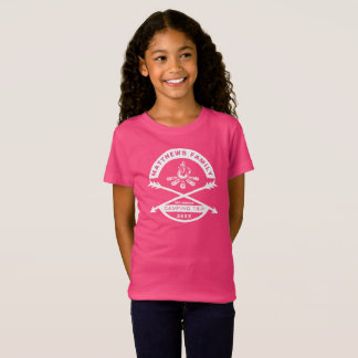 Girls' Camping Trip Reunion Shirt | White Design