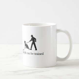 Girls can be trained mug
