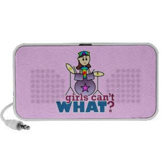 Girls Can t WHAT Drummer Portable Speaker