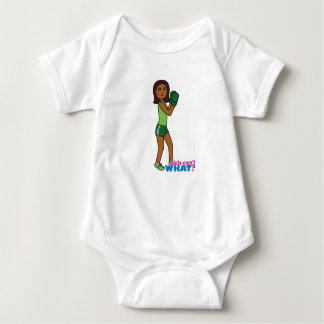 Girls Can't WHAT? ColorizeME Custom Design Baby Bodysuit