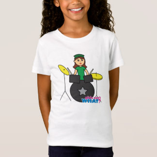 Girls Can't WHAT? ColorizeME Custom Design T-Shirt