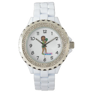 Girls Can't WHAT? ColorizeME Custom Design Wristwatch