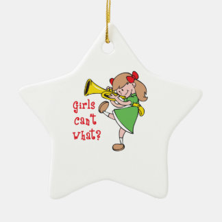 GIRLS CANT WHAT CHRISTMAS TREE ORNAMENTS