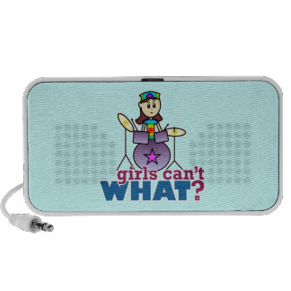 Girls Can't WHAT? Drummer PC Speakers
