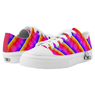 Girls Canvas Shoes Pink Blue Yellow Custom