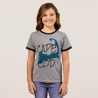 Girl's Cape Cod Massachusetts Shirt