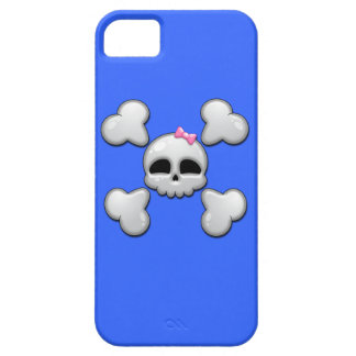 Girls Cartoon Skull iPhone 5 Covers