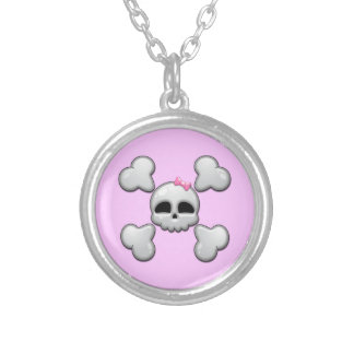 Girls Cartoon Skull Custom Jewelry