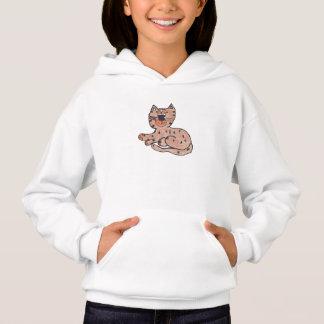 Girls Cat Hoodie