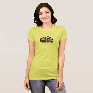 Girls chase better rear with TAC logo front T-Shirt
