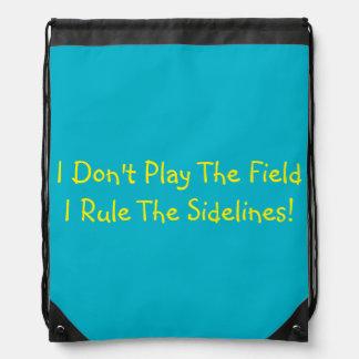 Girls Cheerleading Bag! Cute Quote! Drawstring Backpack