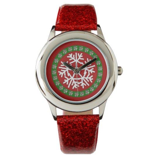 Girls Christmas Watch Custom