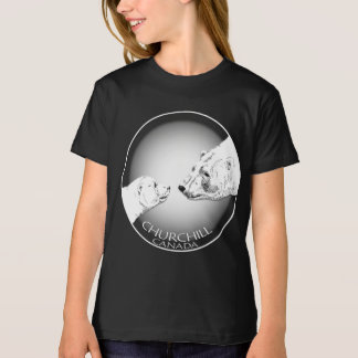 Girl's Churchill Polar Bear Shirt Organic T-Shirt