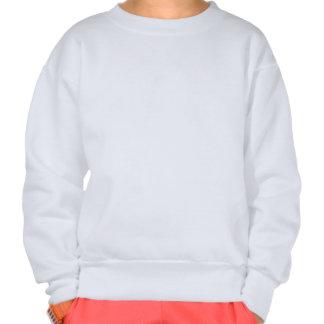Girl's Crew Neck Sweatshirt with Quote Girl's Rock