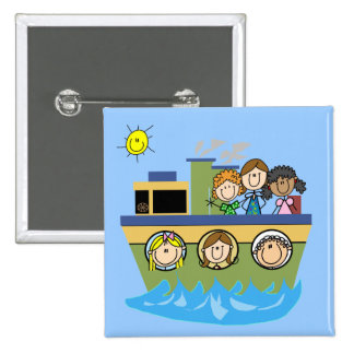 Girls Cruise 15 Cm Square Badge