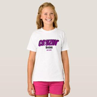 Girls Cruzin Boston T-Shirt